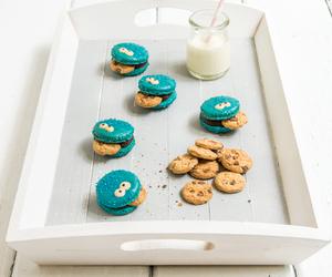 Cookies, food, and cookie monster image