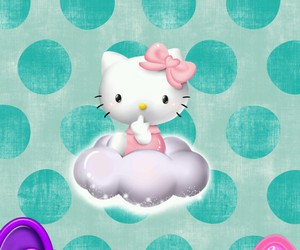 bow, wallpaper, and hello kitty image