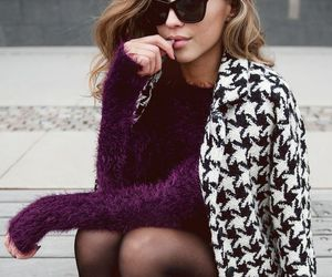 booties, fall fashion, and tights image