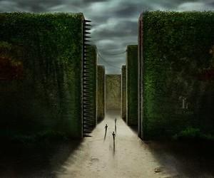 the maze runner, Minho, and newt image