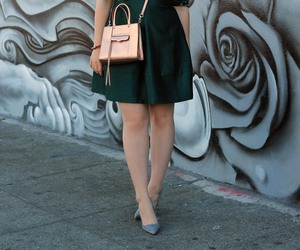 fashion, heels, and holiday image