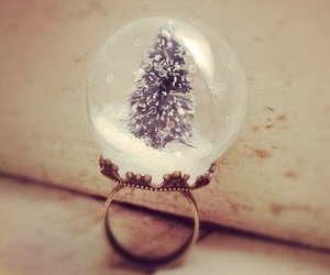 beautiful, ring, and Christmas time image