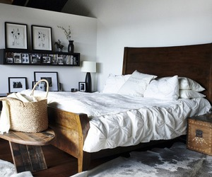 bedroom, bed, and house image