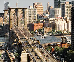 bridge and nyc image
