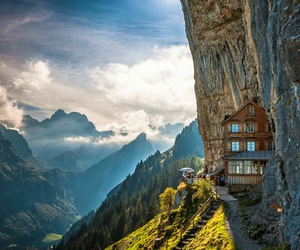 mountains, switzerland, and nature image