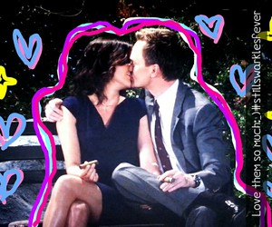 cigarrette, cobie smulders, and himym image