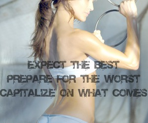 exercise, fitness, and thinspiration image