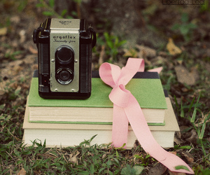 cute, book, and camera image