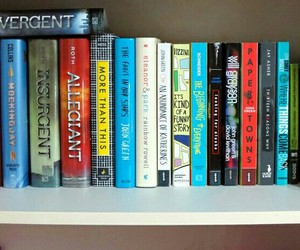 books, reading, and the hunger games image