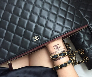 bracelet, chanel, and classy image