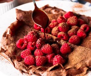 chocolate, crepes, and dessert image