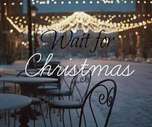 cafe, christmas, and lights image