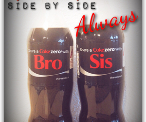 always, brother, and coke image
