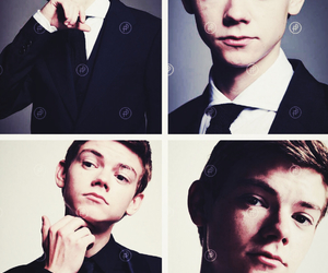 the maze runner, newt, and thomas brodie sangster image