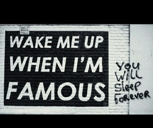 famous, sleep, and quote image