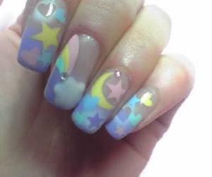 nail art, nails, and fairy kei image