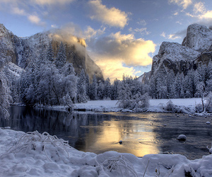beautiful and snow image