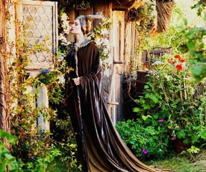 maleficent, Angelina Jolie, and beautiful image