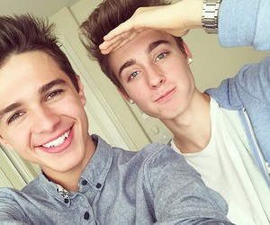 chris collins, brent rivera, and boys image