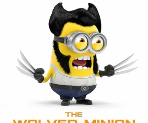 minions and wolverine image