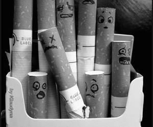 cigarette, smoke, and funny image