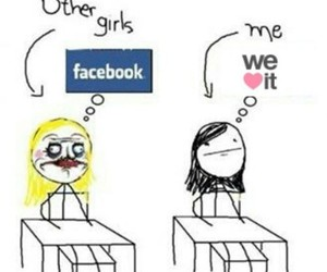 facebook, we heart it, and funny image