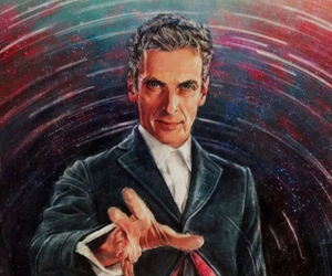 doctor who, peter capaldi, and art image