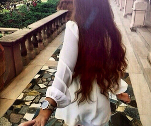 love, girl, and hair image
