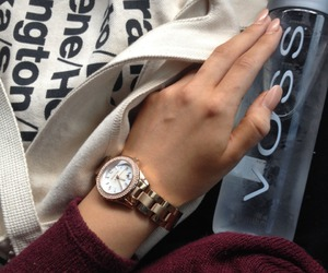 fashion, watch, and voss image