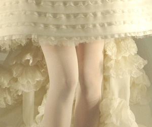 white, pale, and shoes image