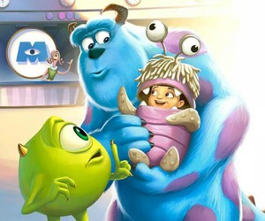 disney, boo, and monsters inc image