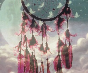 dreamcatcher, mode, and pink image