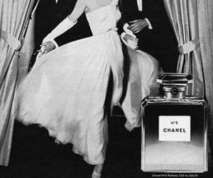 chanel, vintage, and perfume image
