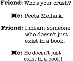 crush, peeta mellark, and mockingjay image