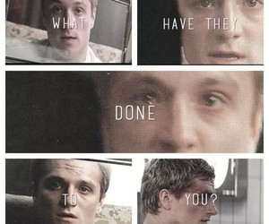 the hunger games and peeta mellark image