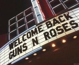 Guns N Roses, music, and rock image