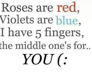 rose, you, and red image