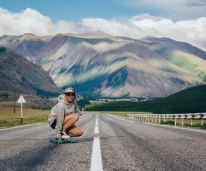 freedom, live, and longboarding image