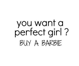 barbie, girl, and perfect image