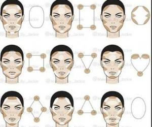 makeup and face image
