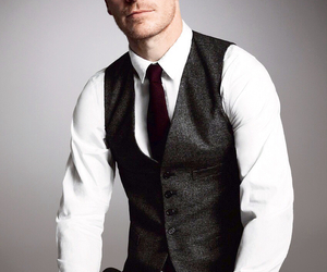michael fassbender, actor, and man image