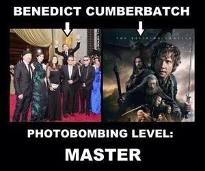 benedict cumberbatch, sherlock, and the hobbit image
