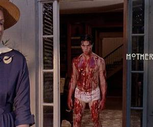 blood, mother, and freak show image