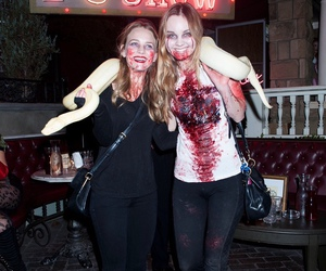 fake blood, Halloween, and hollywood image