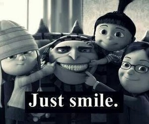 happy, smile, and despicable me image