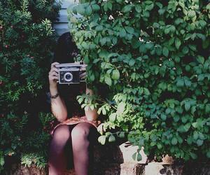 camara, girl, and photography image