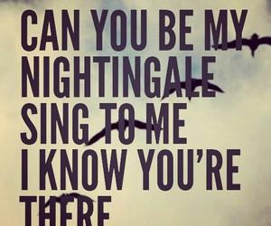 demi lovato, nightingale, and Lyrics image