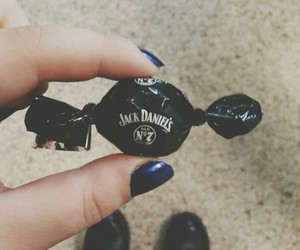 candy, jack daniels, and black image