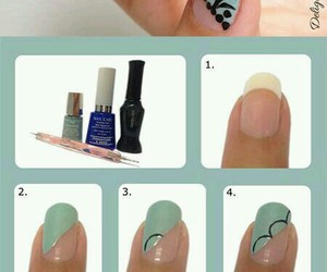 nails, tutorial, and step by step image