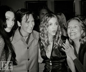 cher, joni mitchell, and madonna image
